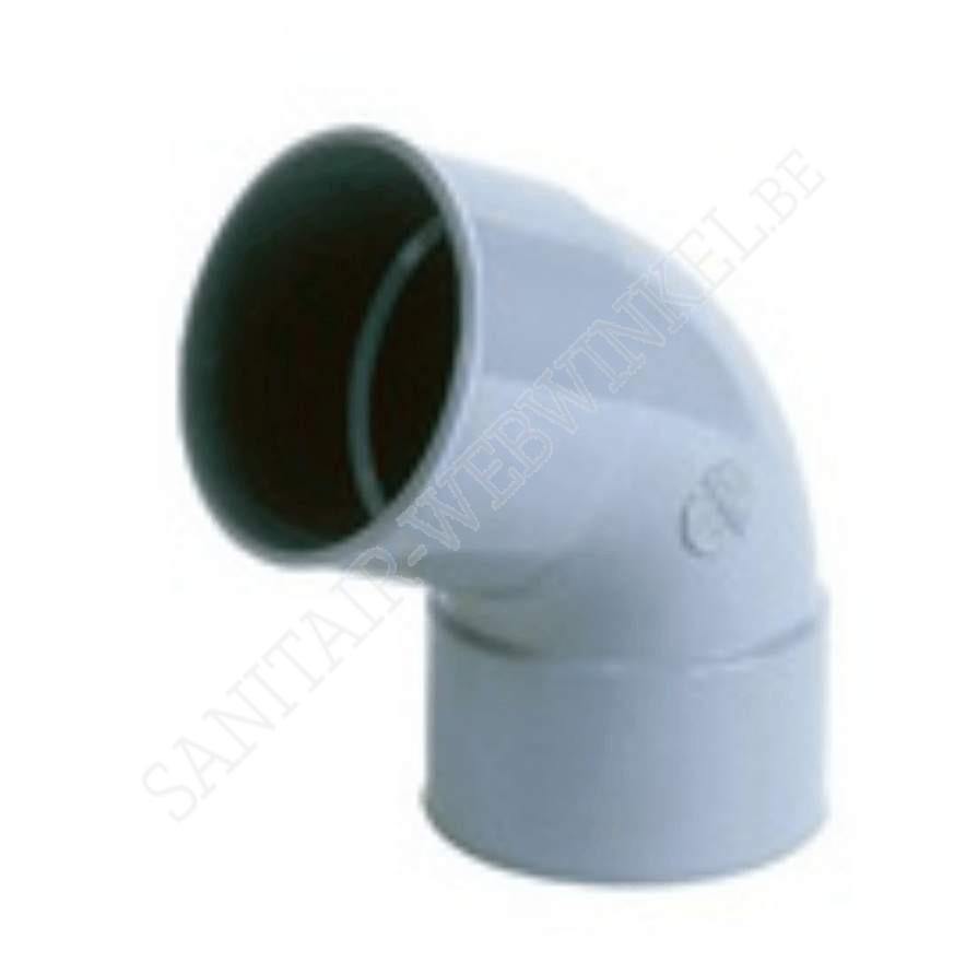 PVC bocht 68° mof - mof Ø75