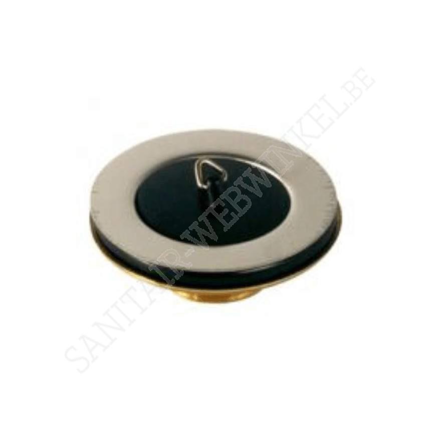 """Complete spoeltafelplug met rubber stop 5/4"""""""