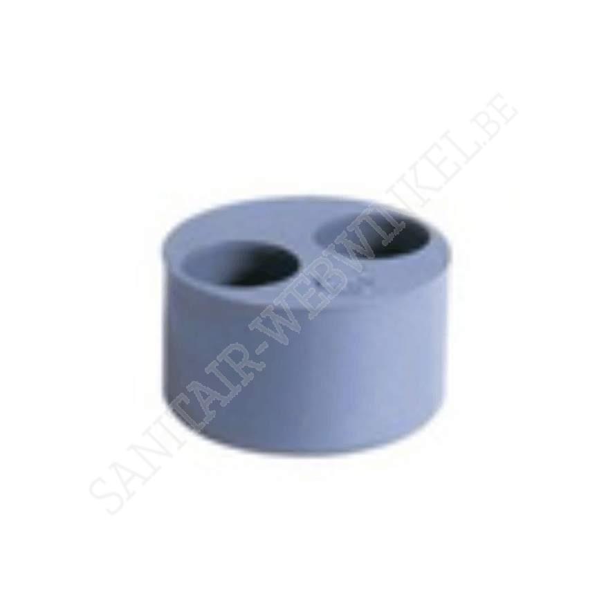 PVC Dubbele reductie 110x40x40