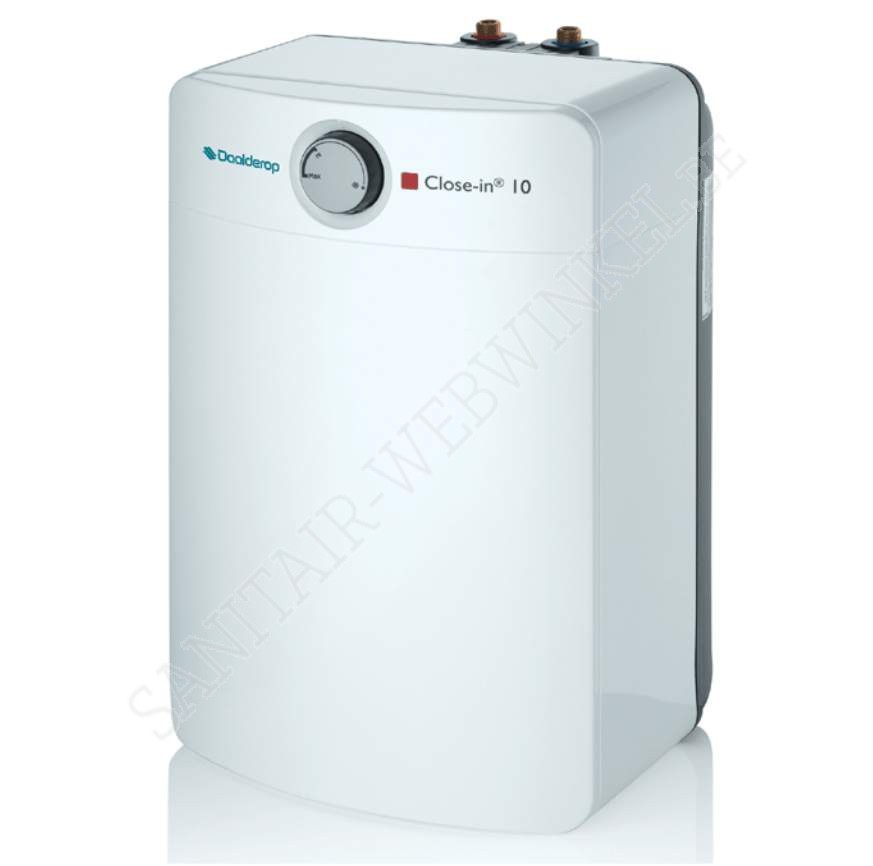 elektrische boiler daalderop close in 10liter sanitair webwinkel. Black Bedroom Furniture Sets. Home Design Ideas
