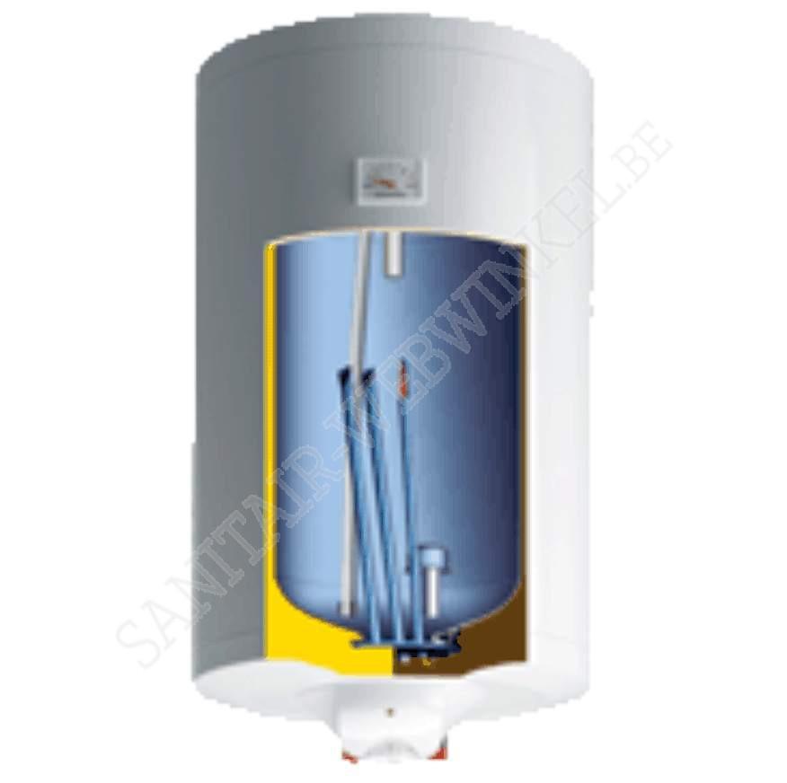 Elektrische boiler 100liter met droge weerstand