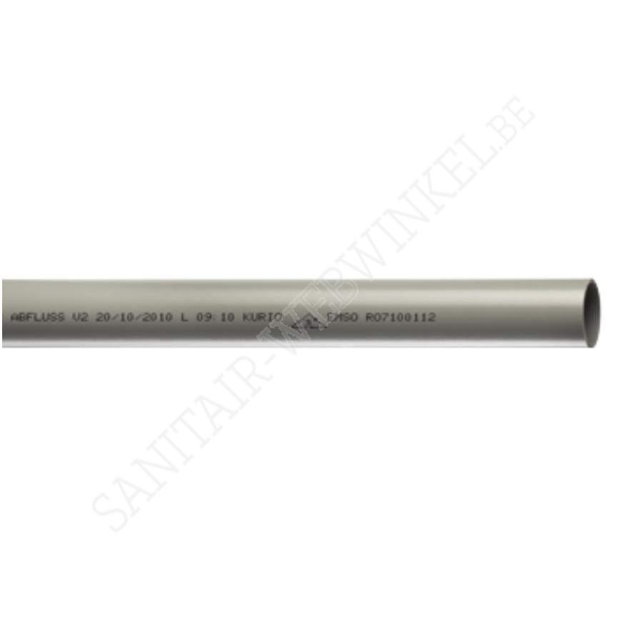 PVC afvoerbuis Ø75 mm 4meter