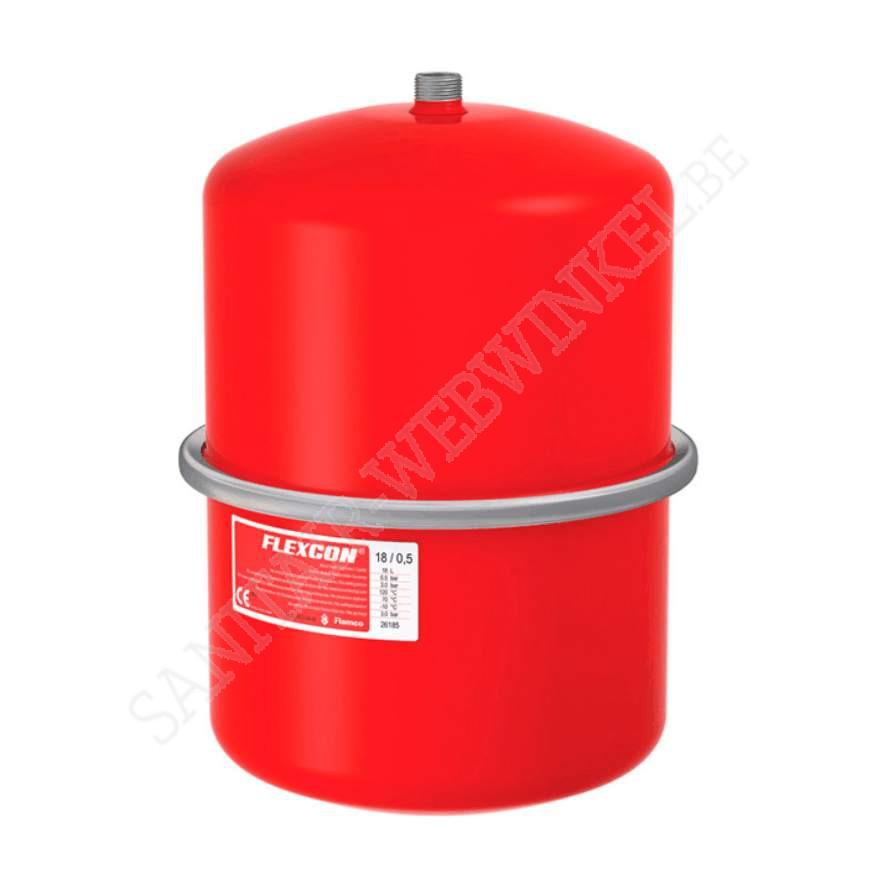Flamco expansievat 18 liter 1 Bar
