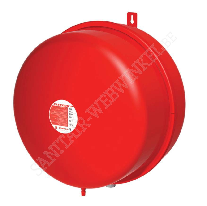 Flamco expantievat 50 liter 1.5 Bar