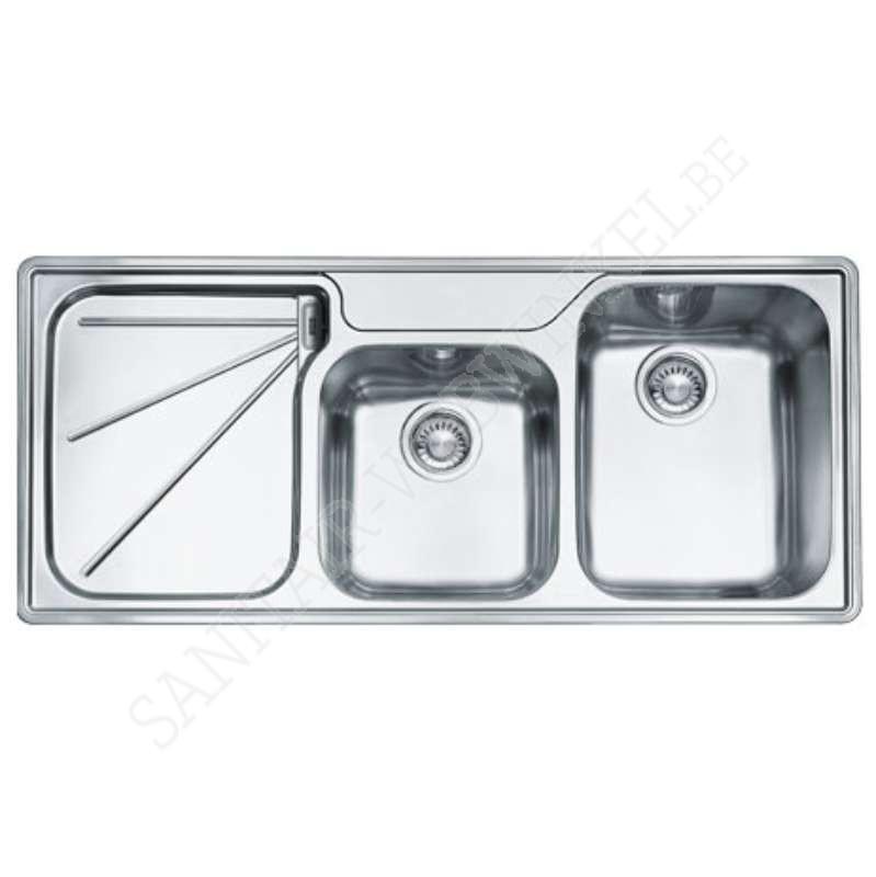 franke ariane arx624l1 inbouw met 2 spoelbakken sanitair webwinkel. Black Bedroom Furniture Sets. Home Design Ideas