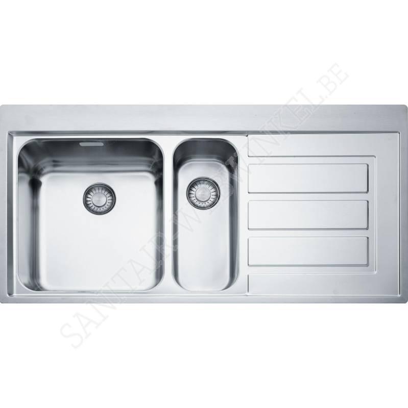 franke epos eox651r1 inbouw met 1 5 spoelbak sanitair webwinkel. Black Bedroom Furniture Sets. Home Design Ideas