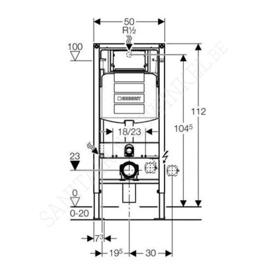 geberit systemfix up320 inbouwelement sanitair webwinkel. Black Bedroom Furniture Sets. Home Design Ideas