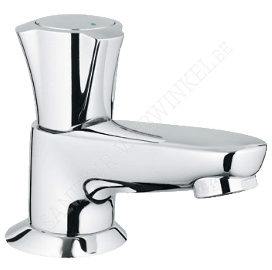 """Grohe Costa L toiletkraan 1/2"""" metalen greep"""