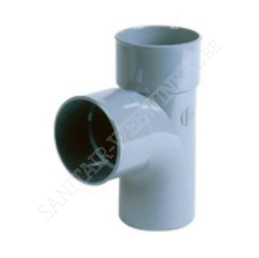 PVC T-stuk 90° mof  - mof – spie Ø100