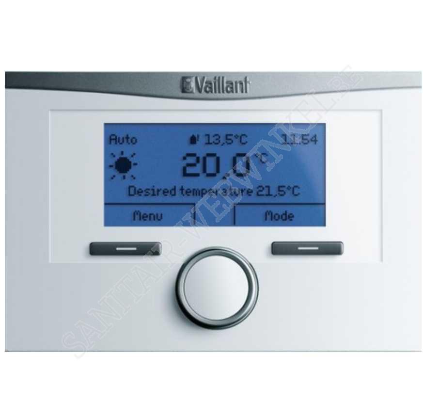 Vaillant calormatic VRC700 weersafhankelijke thermostaat